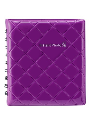 Fujifilm instax mini Mor Kare Albüm Mor
